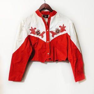 Vintage Western Jacket Cropped